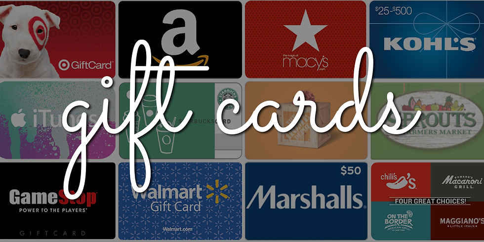 Scrip Gift Cards