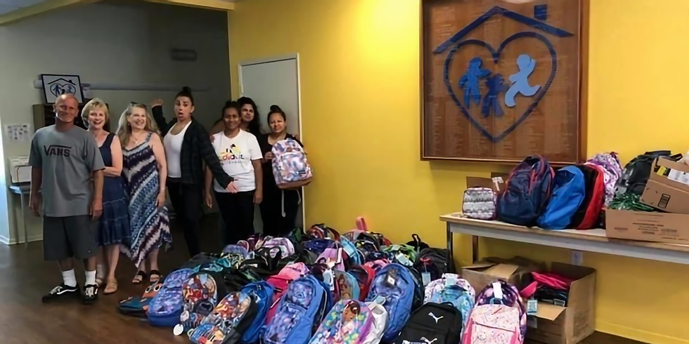 Backpack and School Supply Drive for Solutions for Change