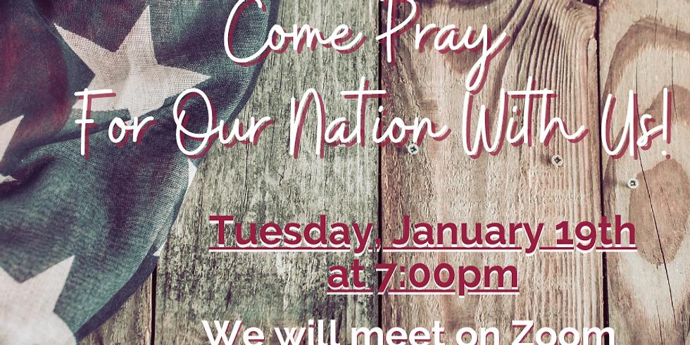Zoom Prayer Night - January 19th