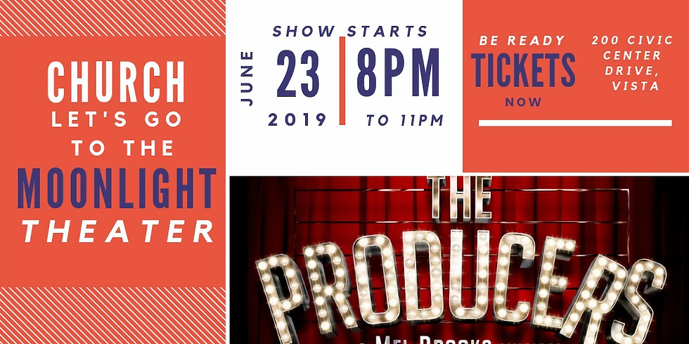 The Producers at The Moonlight Theater