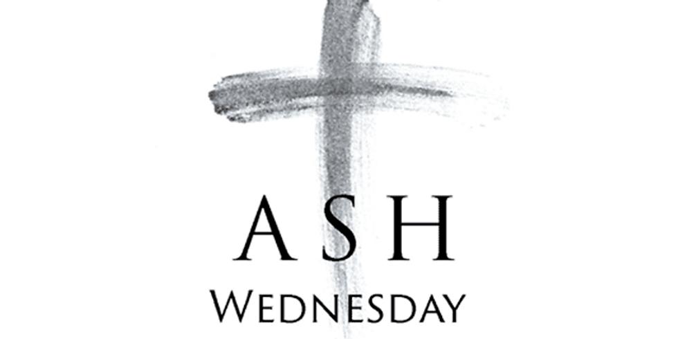 Zoom Ash Wednesday Service