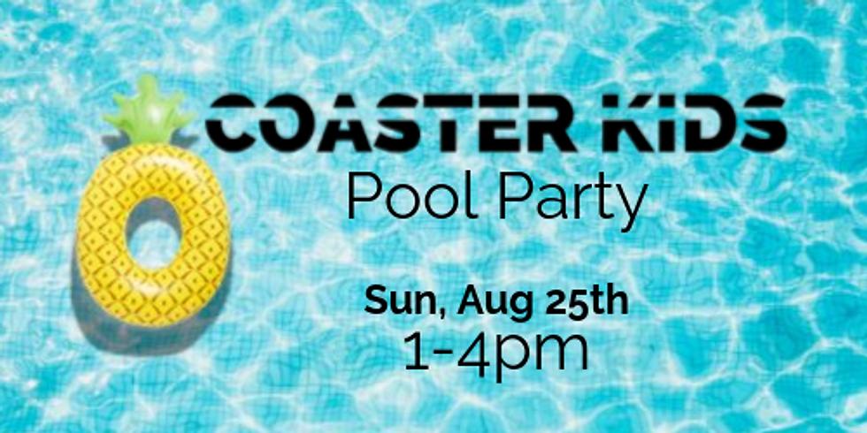 COASTER KIDS Pool Party