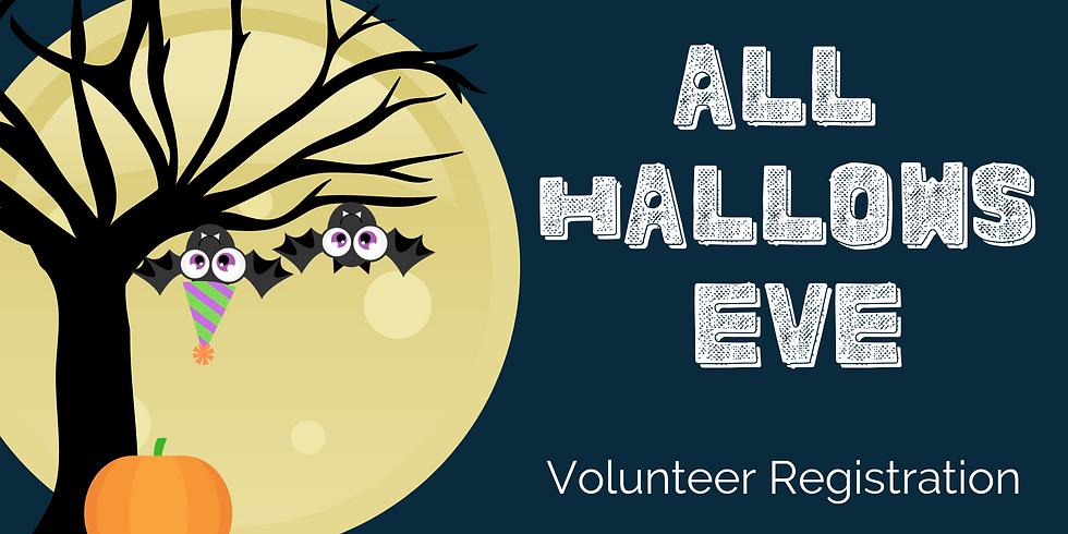 All Hallow's Eve Celebration Volunteer Registration