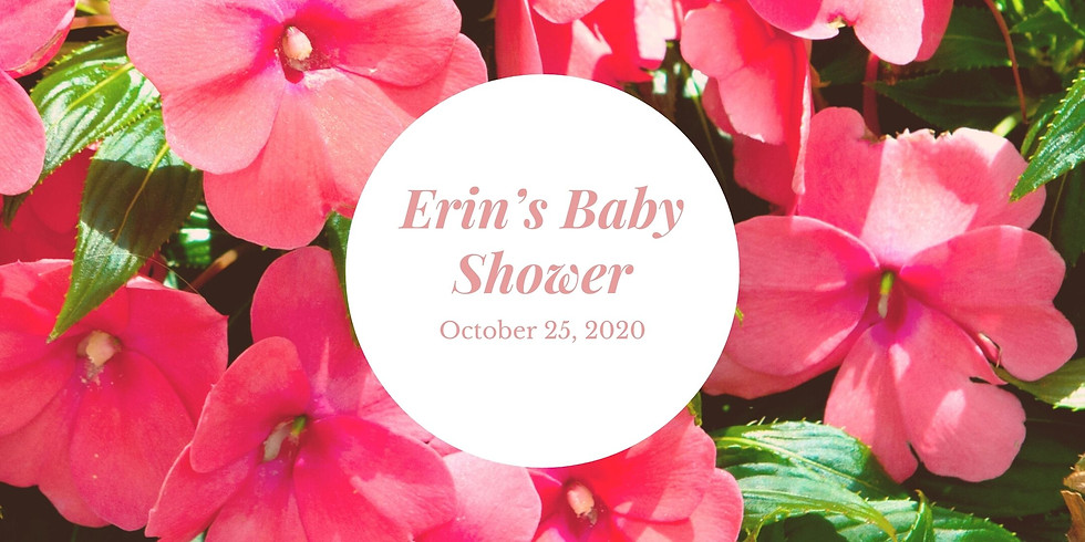 Baby Shower for Erin & Andy Holyes