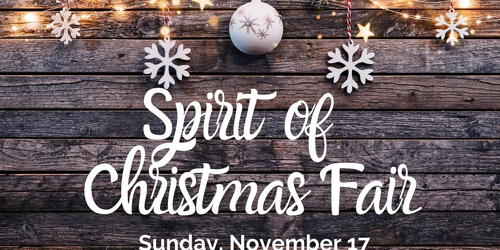 Spirit of Christmas Fair - November 17