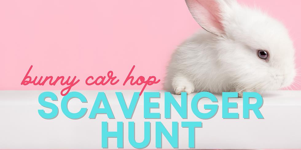 Bunny Car Hop Scavenger Hunt