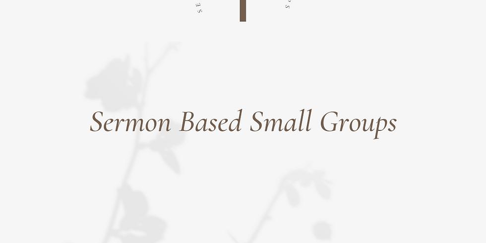 Sermon Based Small Groups