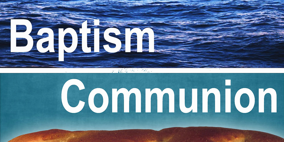 Family Baptism and Communion Class July 15 & 22 at 9:00 a.m. in Room 101