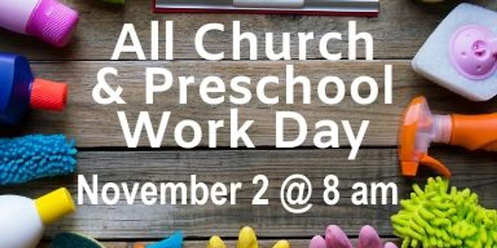 All Church & Preschool Clean Up