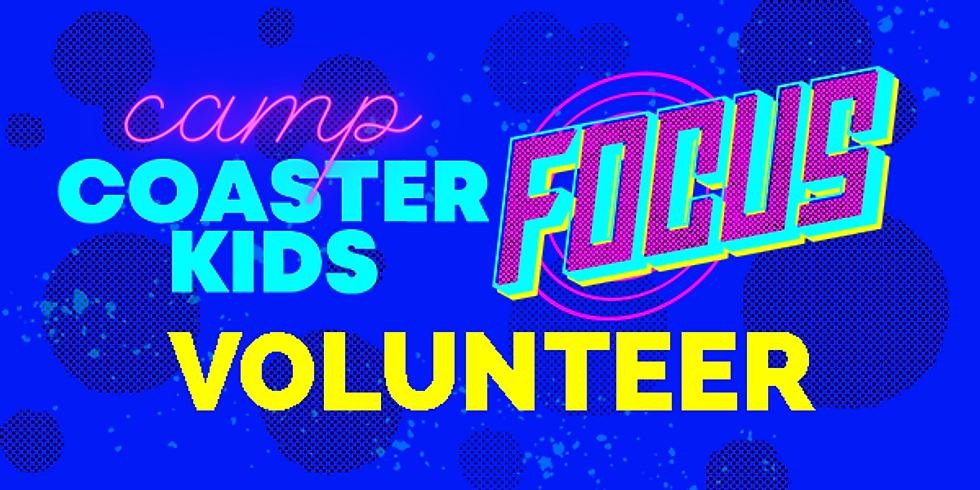 2021 CAMP COASTER KIDS Volunteer Registration