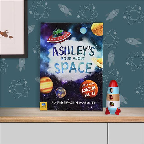 Personalised My Book About Space- New Personalise Book For Spring 2016