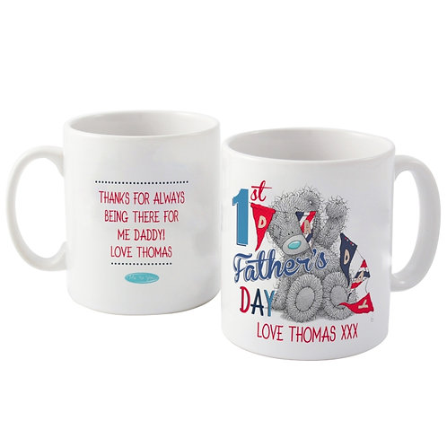 This Me to You personalised mug is a cute gift for him to mark his first Father's Day