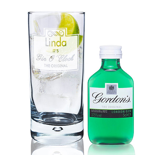 The Gin O'Clock Hi Ball Glass is the perfect gift for any occasion, it's crisp, clear design is sure to impress.