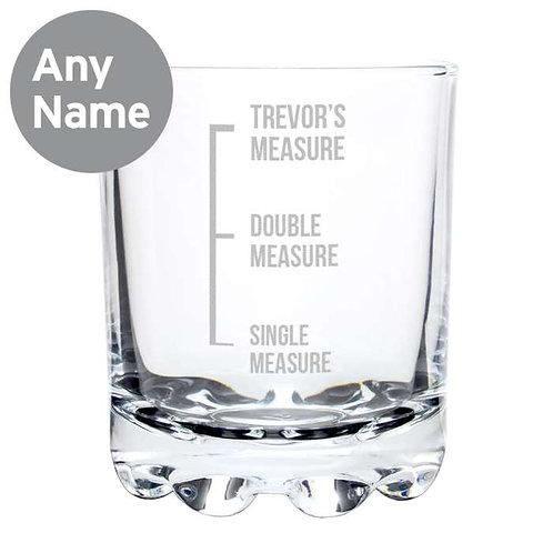 Personalised Measures Tumbler