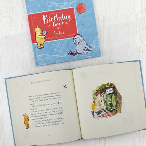 personalised winnie the pooh s birthday book