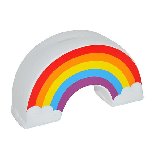 Ceramic Rainbow Money Box