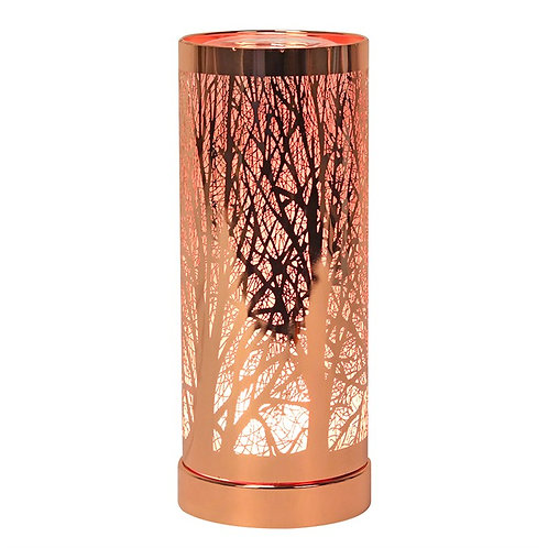 Colour Changing LED Aroma Lamp - Rose Gold  Tree