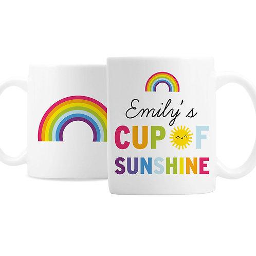 Personalised Cup of Sunshine Mug