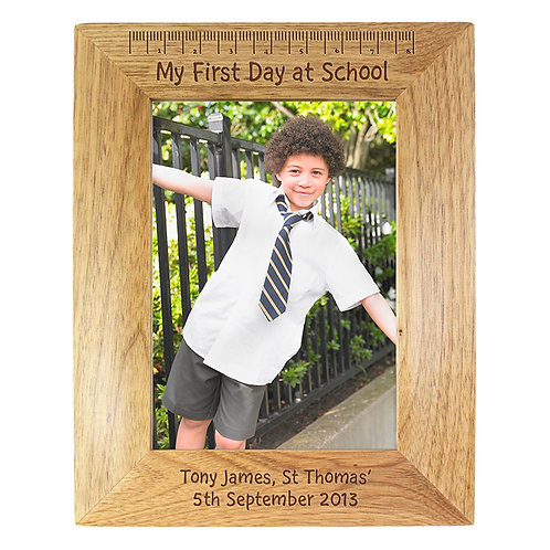 Personalised First Day At School Frame- The Perfect Way To Remember Your Little Ones First Day At School