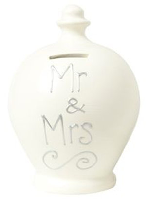 Terramundi Pot-Mr & Mrs-A Lovely Wedding Gift For The Happy Couple