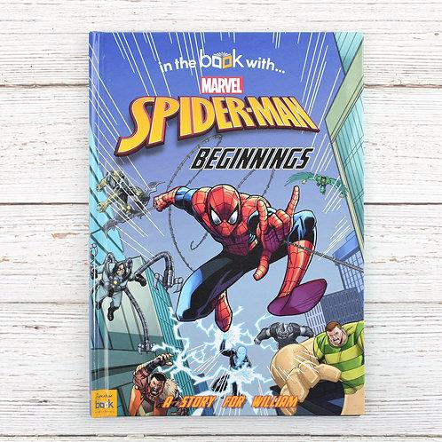 Personalised Spiderman Beginnings book