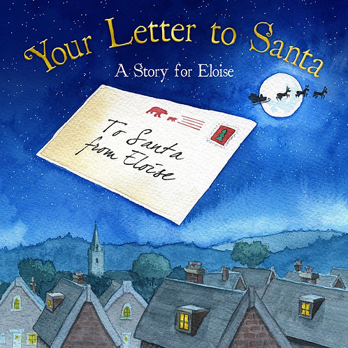 hrough Santa's eyes and speech this book takes a look at the letter's journey to the North Pole