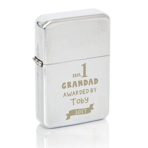 Personalised no.1 Awarded By Silver Lighter