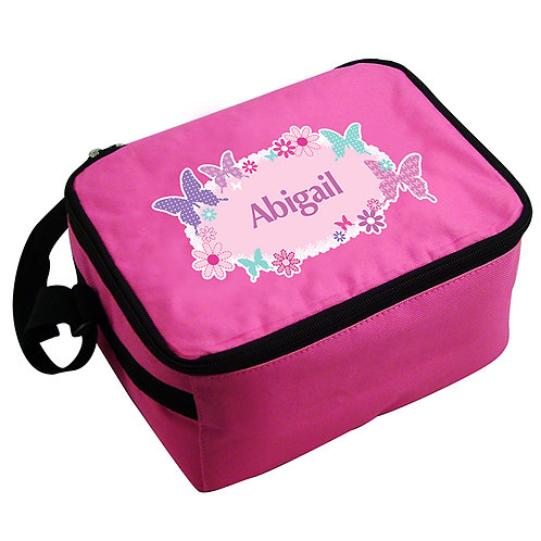 Personalised Butterfly Lunch Bag - watchbox leamington spa