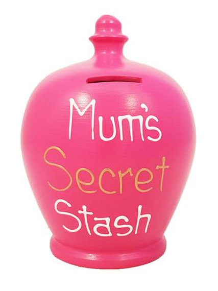 Mum's Secret Stash Money Pot