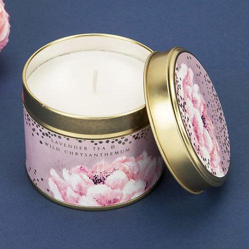 Swan Lake Lavender Tea & Wild Chrysanthemum Candle