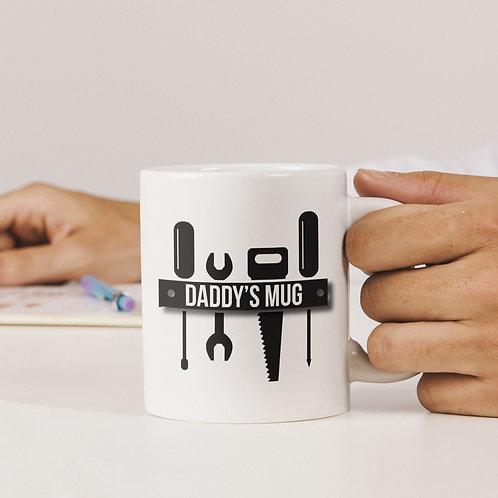 Personalised Tool Bench Mug
