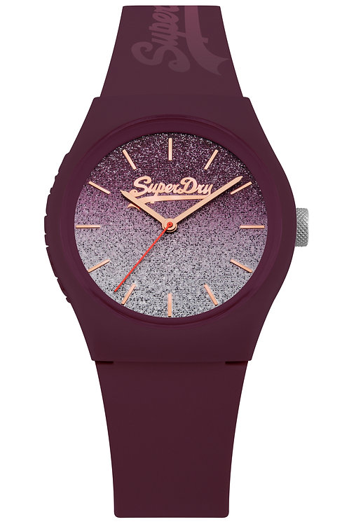 Superdry Urban Ombre Glitter Watch SYL179R
