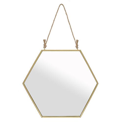 Large Gold Geometric Mirror