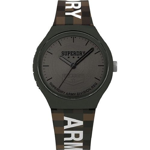 Superdry Urban XL Grey Brown Mens Watch SYG251E