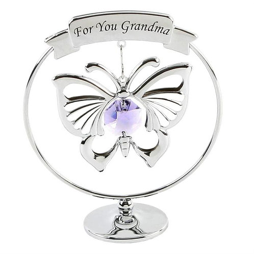 Crystocraft Freestanding Mobile - For You Grandma