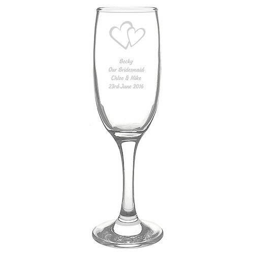 Personalised Heart Flute  Personalise this Heart Flute with up to 4 lines of 15 characters each