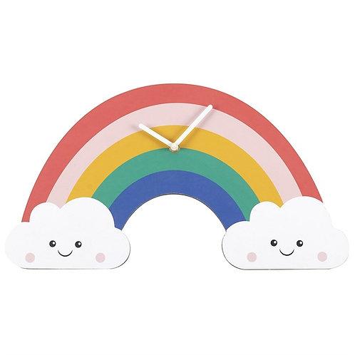 Rainbow Shaped Clock