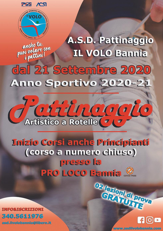 Locandina Iscrizioni 2 IL VOLO 2020-21.j