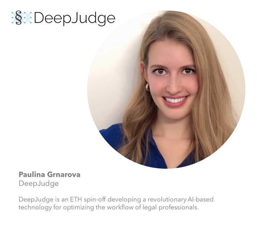 Paulina Grnarova - DeepJudge