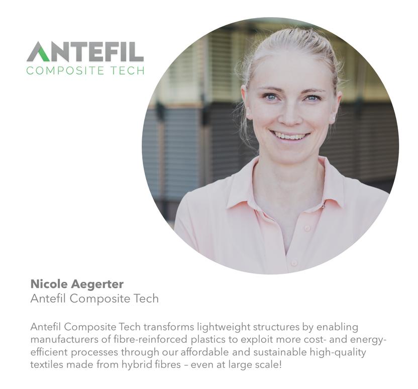 Nicole Aegerter - Antefil Composite Tech