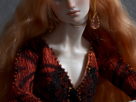 """Thethird and final doll from the collection """"Reign of Beauty""""."""