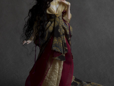 "Semiramis next doll from collection ""Reign of beauty"""