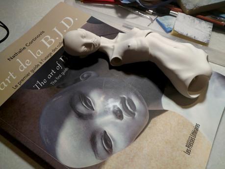 """The book """"L'art de la B.J.D"""""""