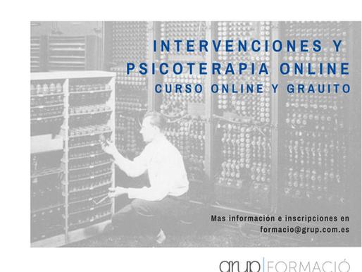 Curso de intervenciones y psicoterapia online
