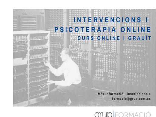 Curs d'intervencions i psicoteràpia online