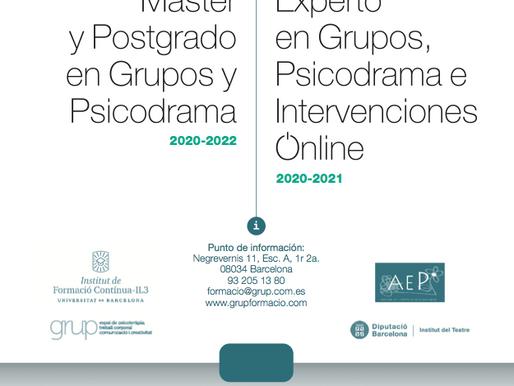 Máster y Postgrado en Grupos y Psicodrama