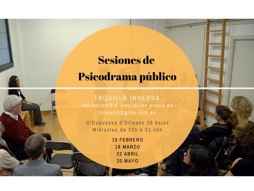 Sesiones de Psicodrama público