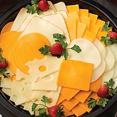 Premium Sliced Deli Cheese Platter