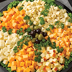 Gold Medal Cubed Deli Cheese Platter