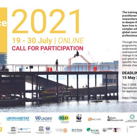 Inscriu-te a la formació intensiva de resiliència urbana 2021